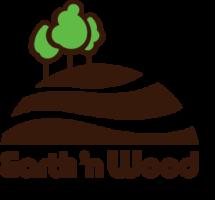 earth n wood logo